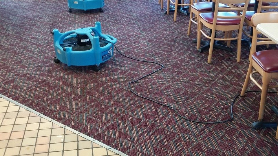 Resturant carpet clean